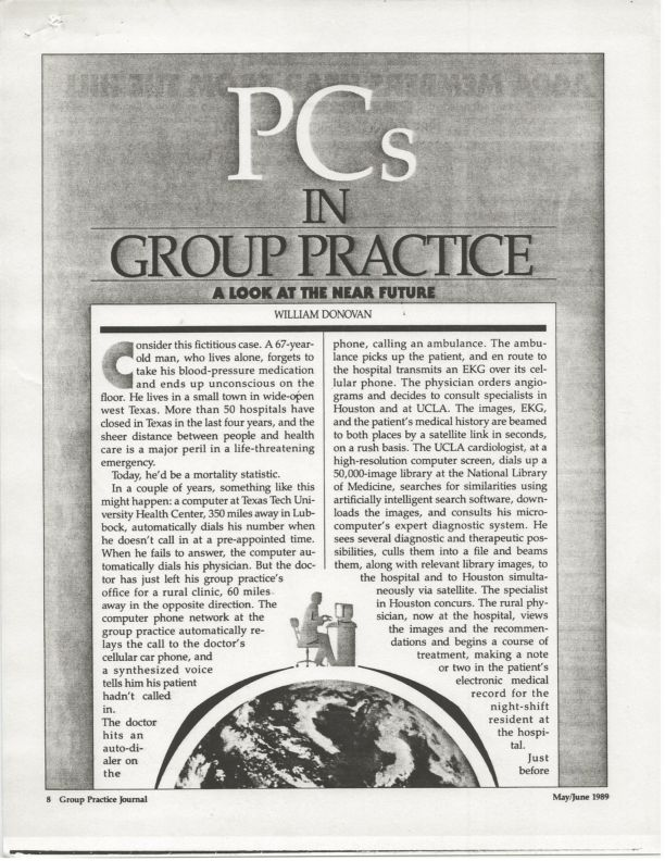 PCs in Group Practice
